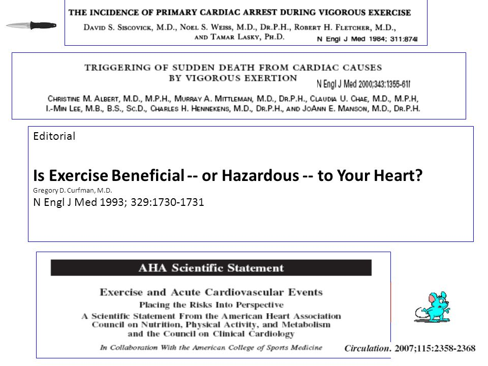 Is Exercise Beneficial -- or Hazardous -- to Your Heart