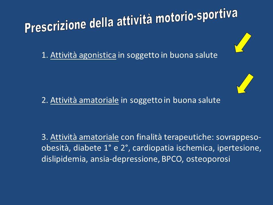 Prescrizione della attività motorio-sportiva