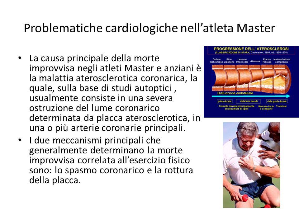 Problematiche cardiologiche nell'atleta Master
