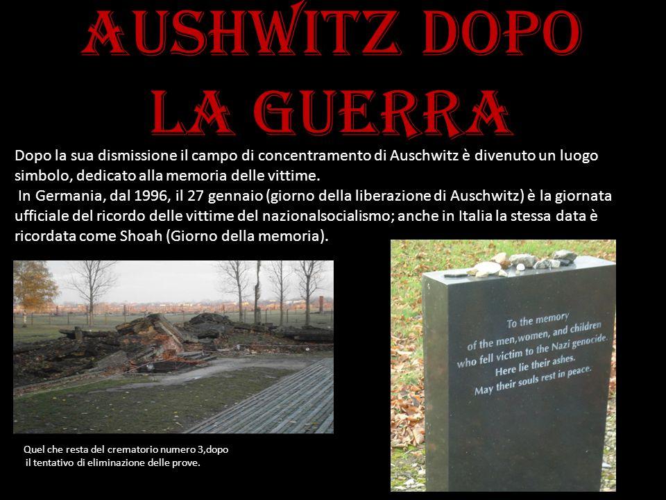 Aushwitz dopo la guerra