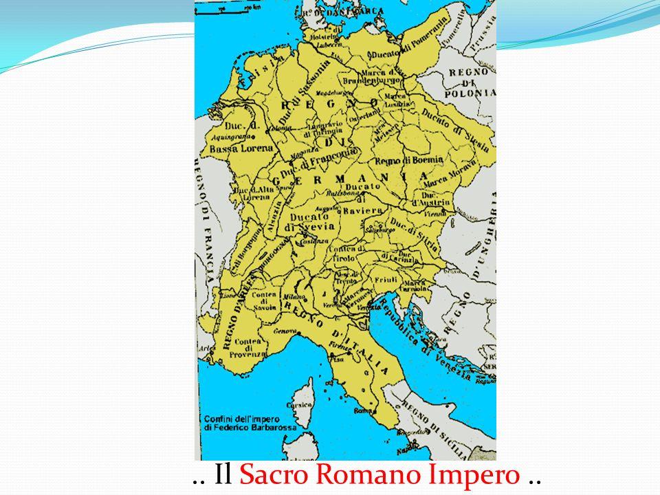 .. Il Sacro Romano Impero ..