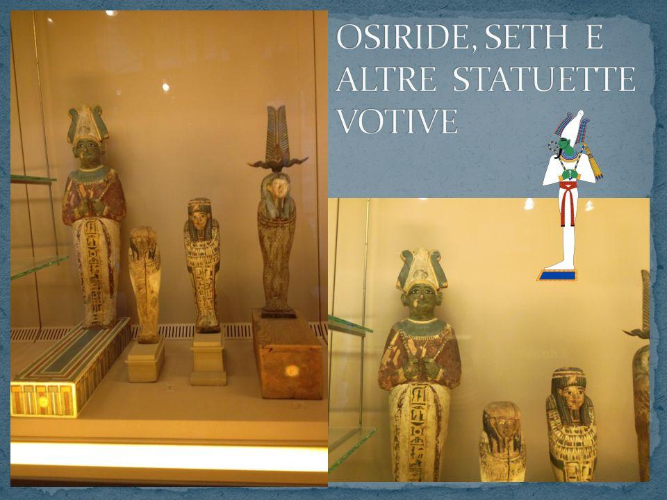 OSIRIDE, SETH E ALTRE STATUETTE VOTIVE