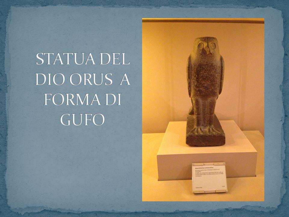 STATUA DEL DIO ORUS A FORMA DI GUFO