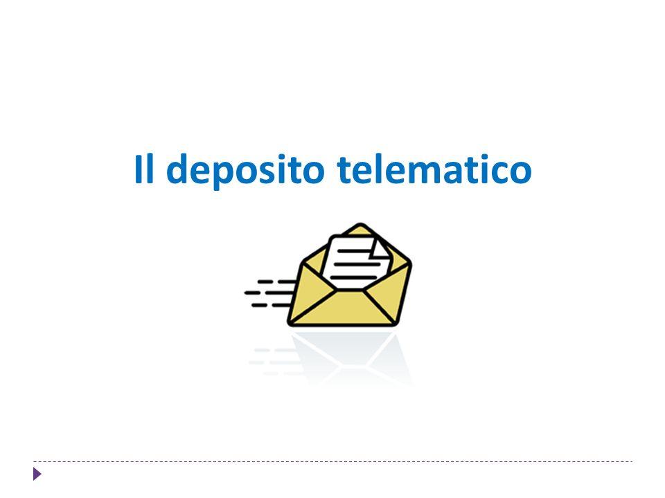 Il deposito telematico