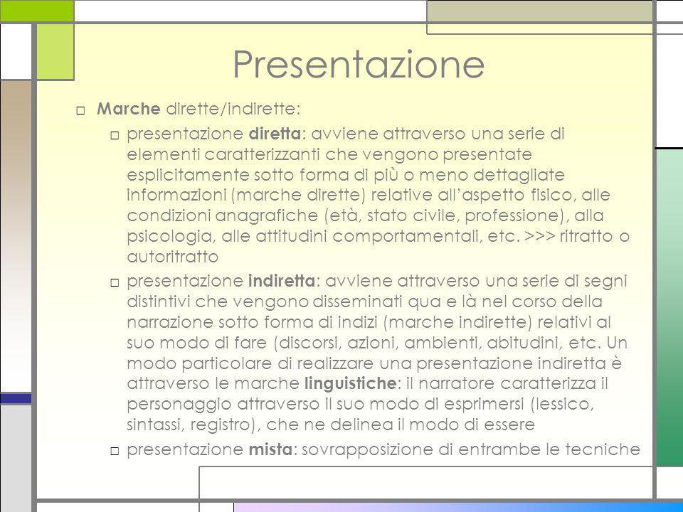 Presentazione Marche dirette/indirette:
