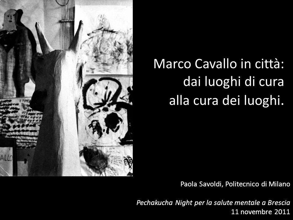 Marco Cavallo in città: dai luoghi di cura alla cura dei luoghi.