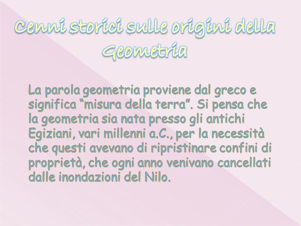 Cenni storici sulle origini della Geometria