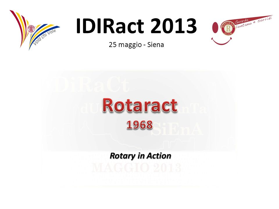 Rotaract 1968 Rotary in Action