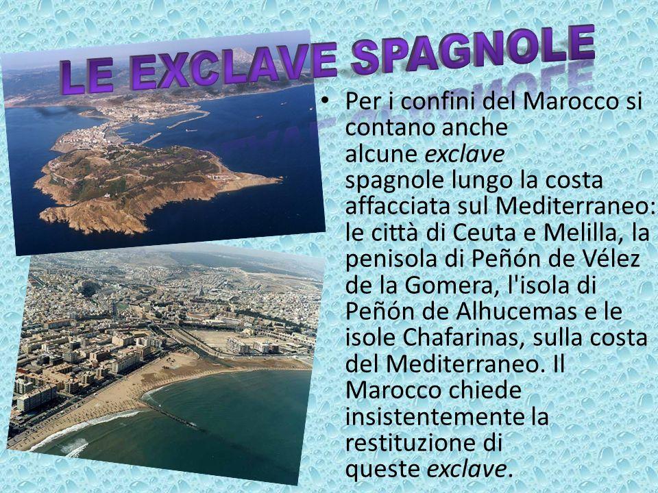 Le exclave spagnole