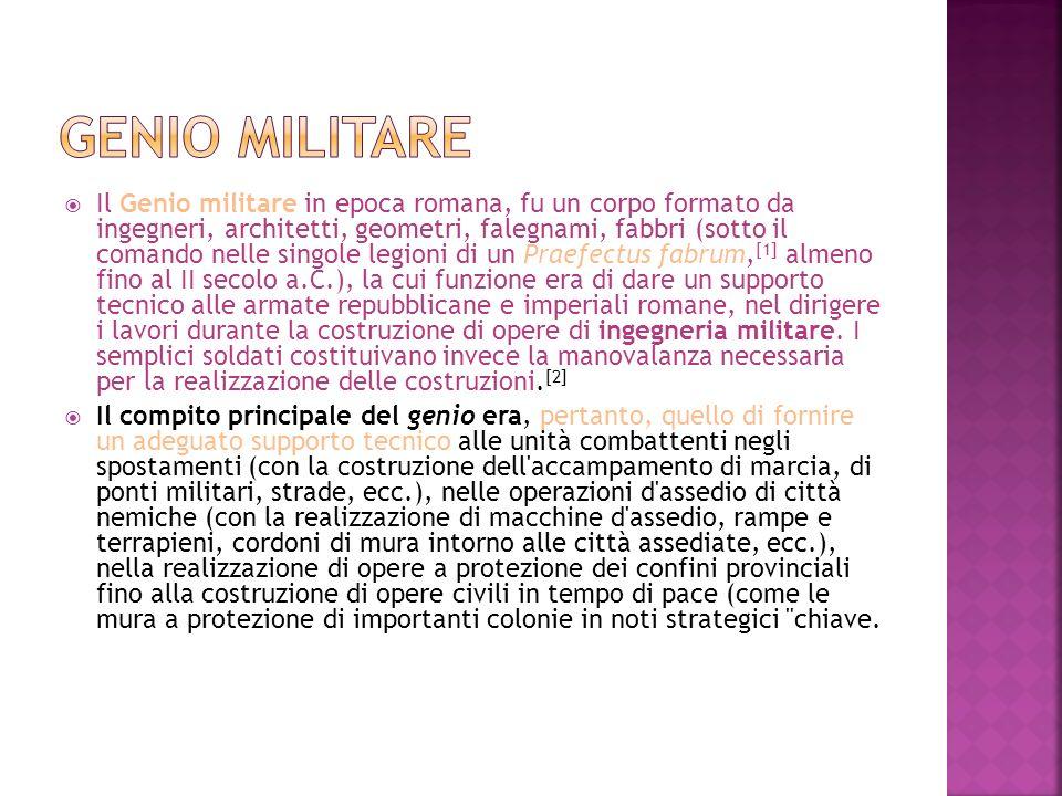 Genio militare