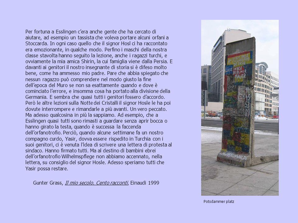 Gunter Grass, Il mio secolo. Cento racconti, Einaudi 1999