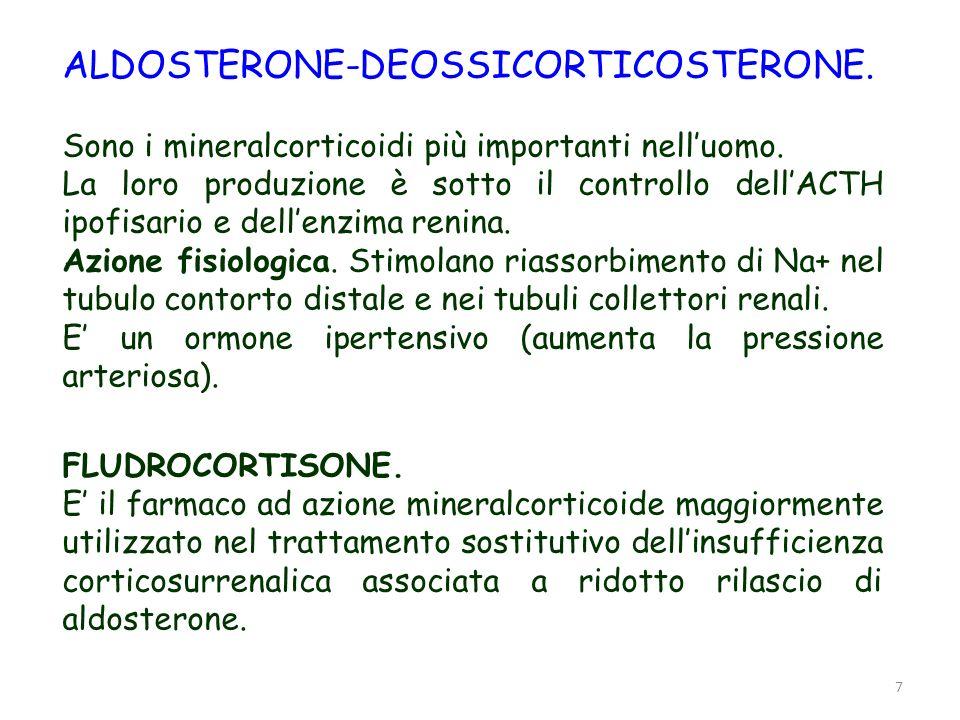 ALDOSTERONE-DEOSSICORTICOSTERONE.