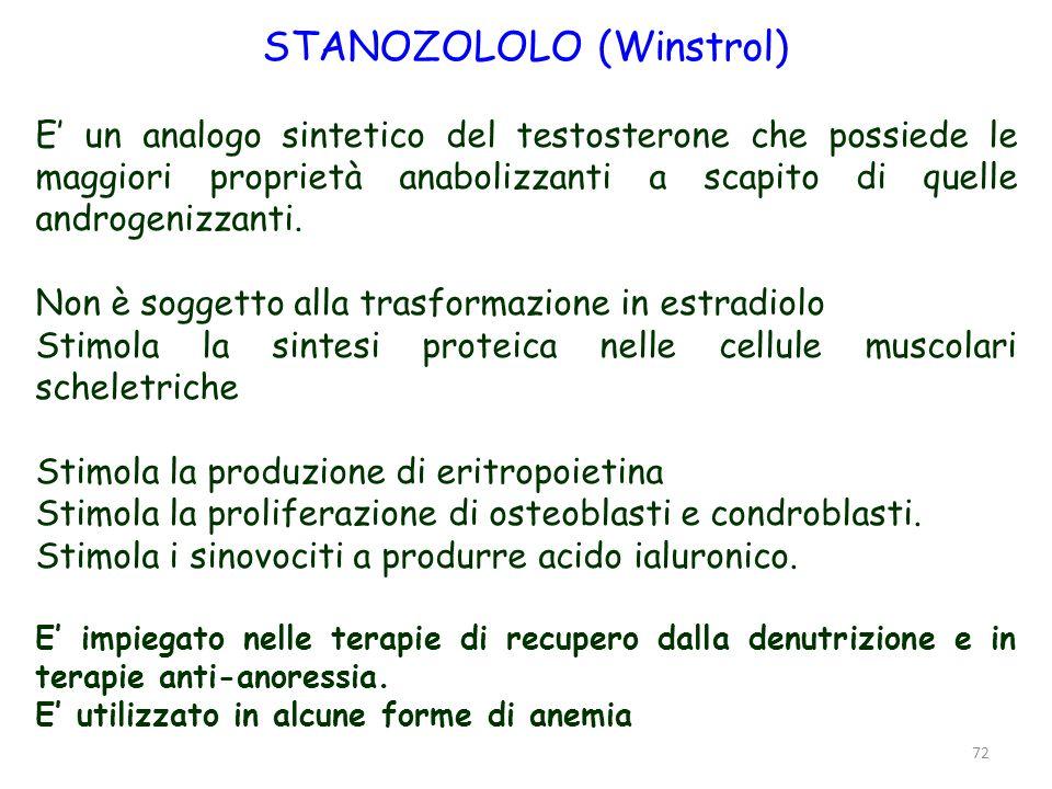 STANOZOLOLO (Winstrol)