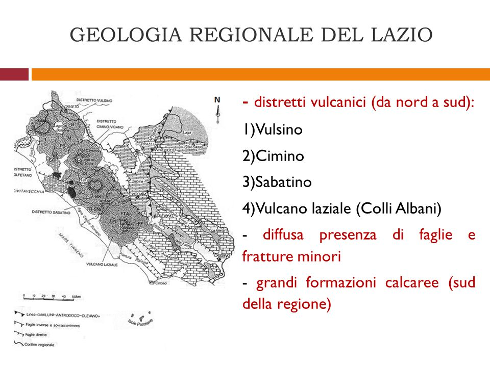 GEOLOGIA REGIONALE DEL LAZIO