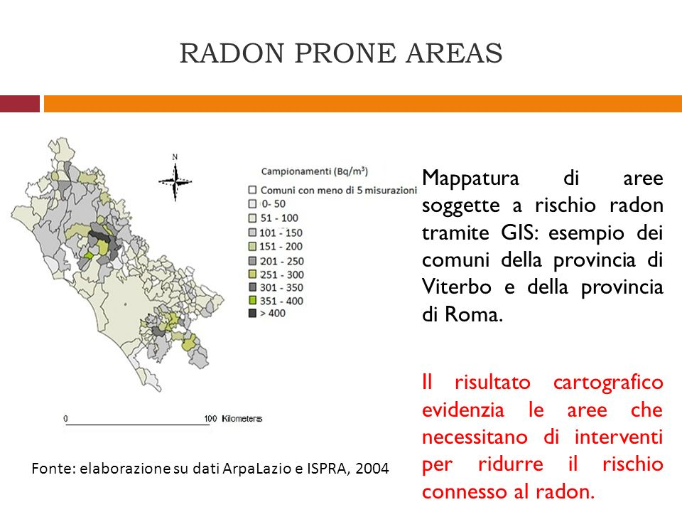 RADON PRONE AREAS