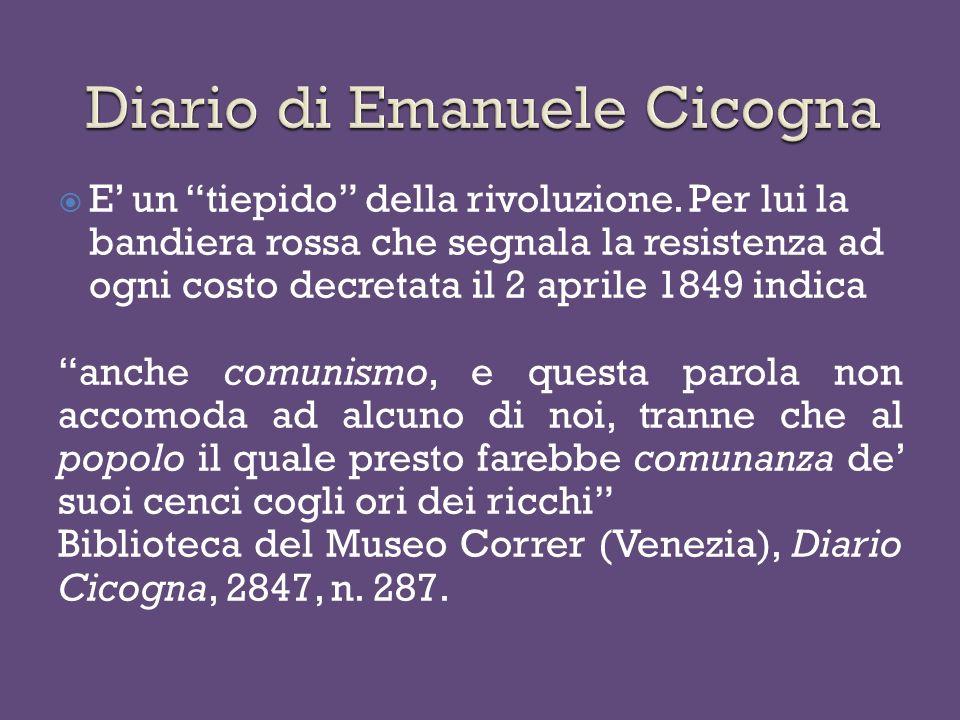 Diario di Emanuele Cicogna