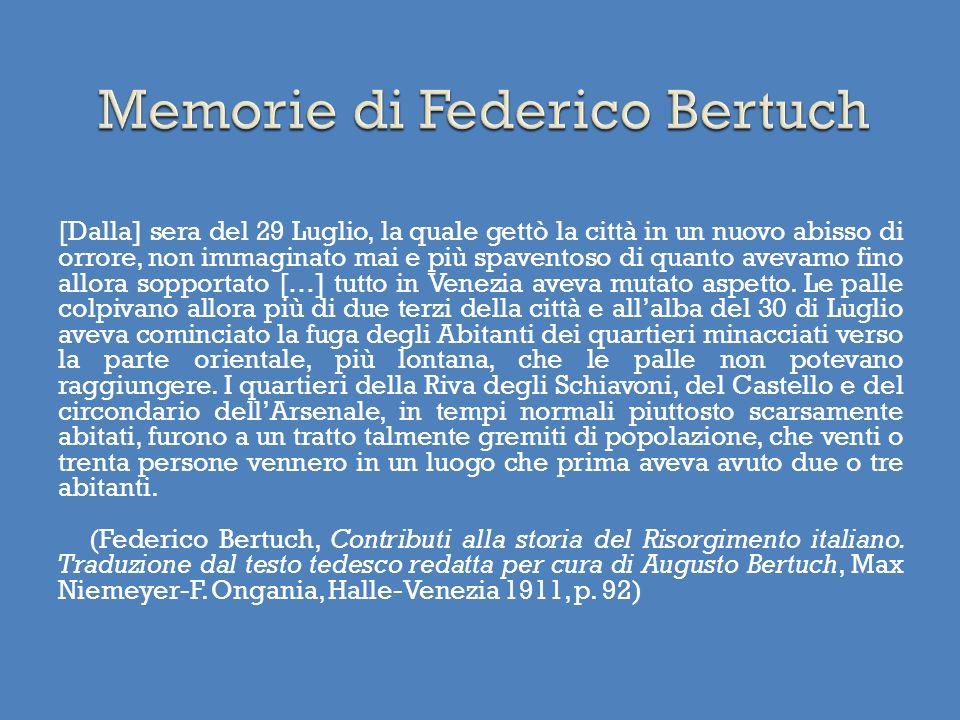 Memorie di Federico Bertuch
