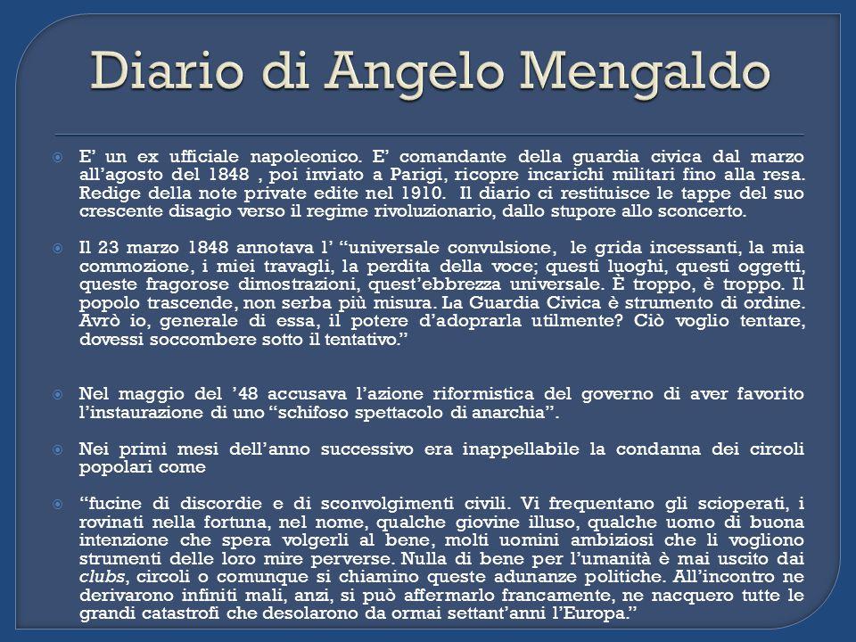 Diario di Angelo Mengaldo
