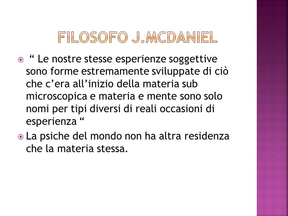 Filosofo J.MCDANIEL