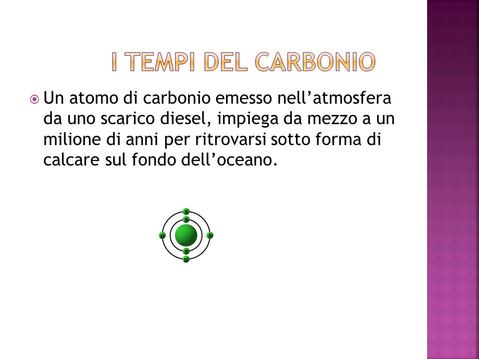 I tempi del carbonio