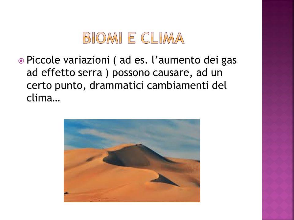 biomi e clima