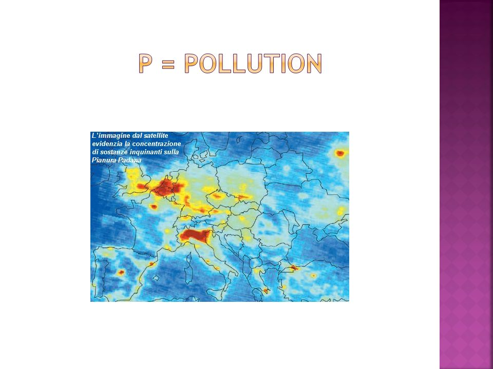 P = pollution