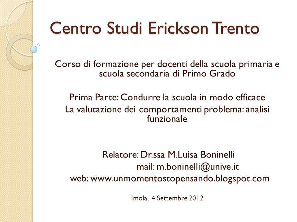 Centro Studi Erickson Trento
