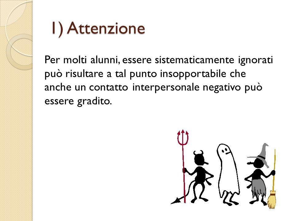 1) Attenzione