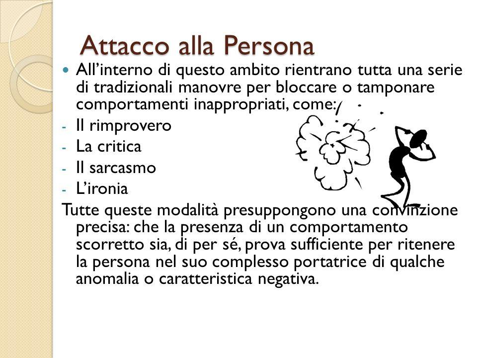 Attacco alla Persona