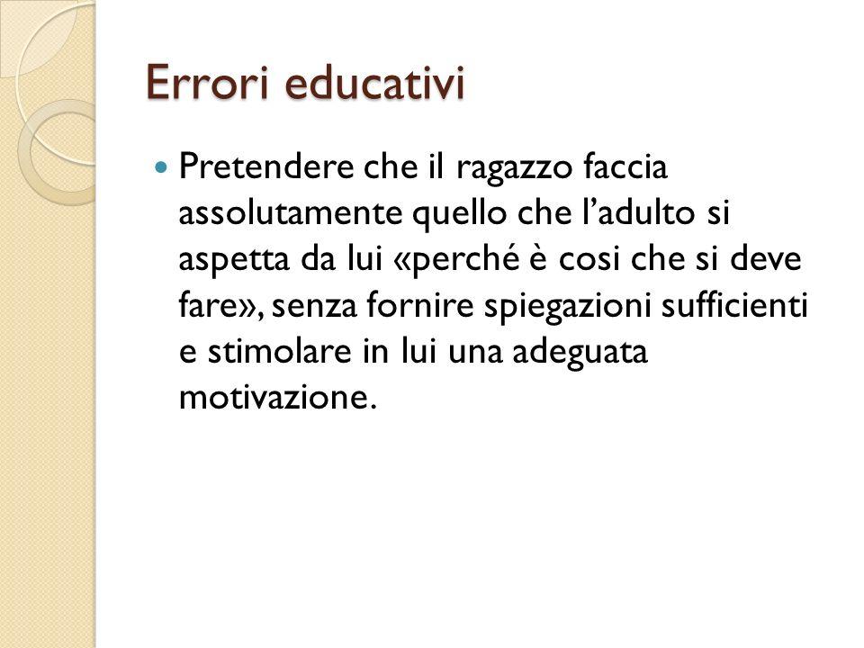 Errori educativi