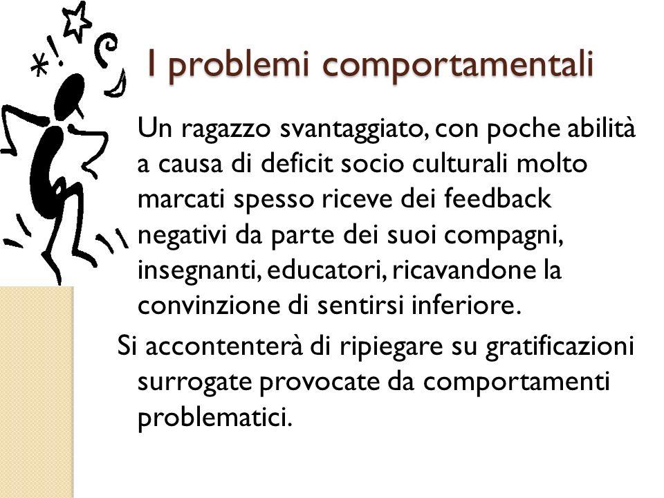 I problemi comportamentali