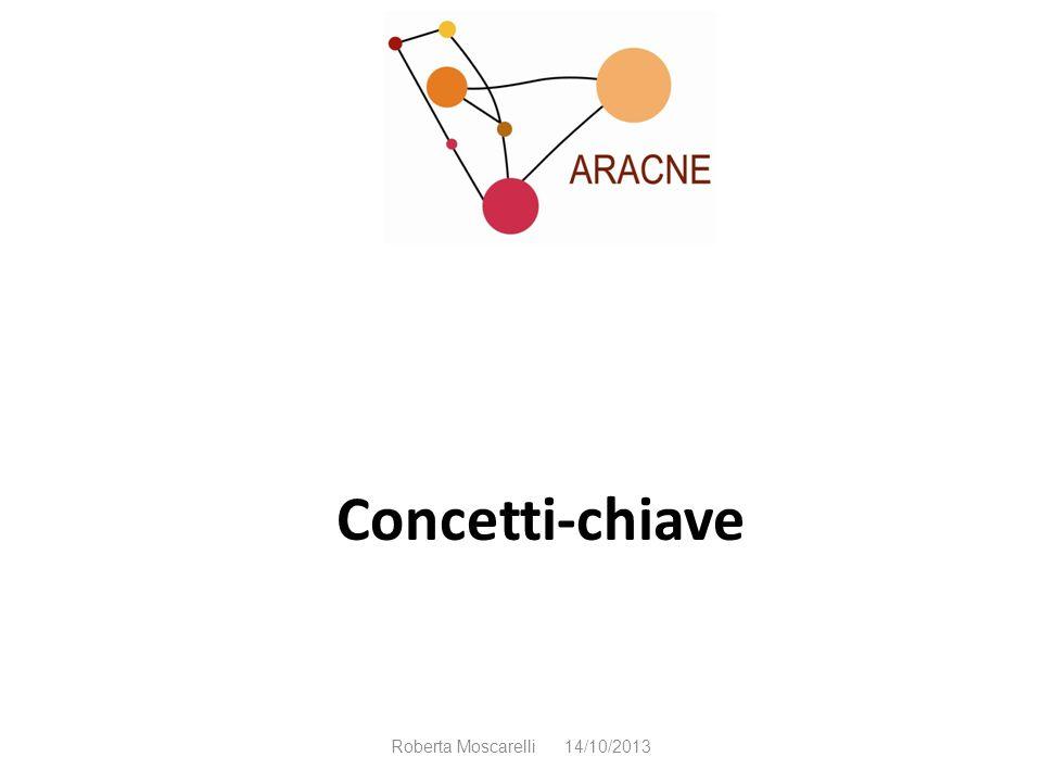 Concetti-chiave Roberta Moscarelli 14/10/2013
