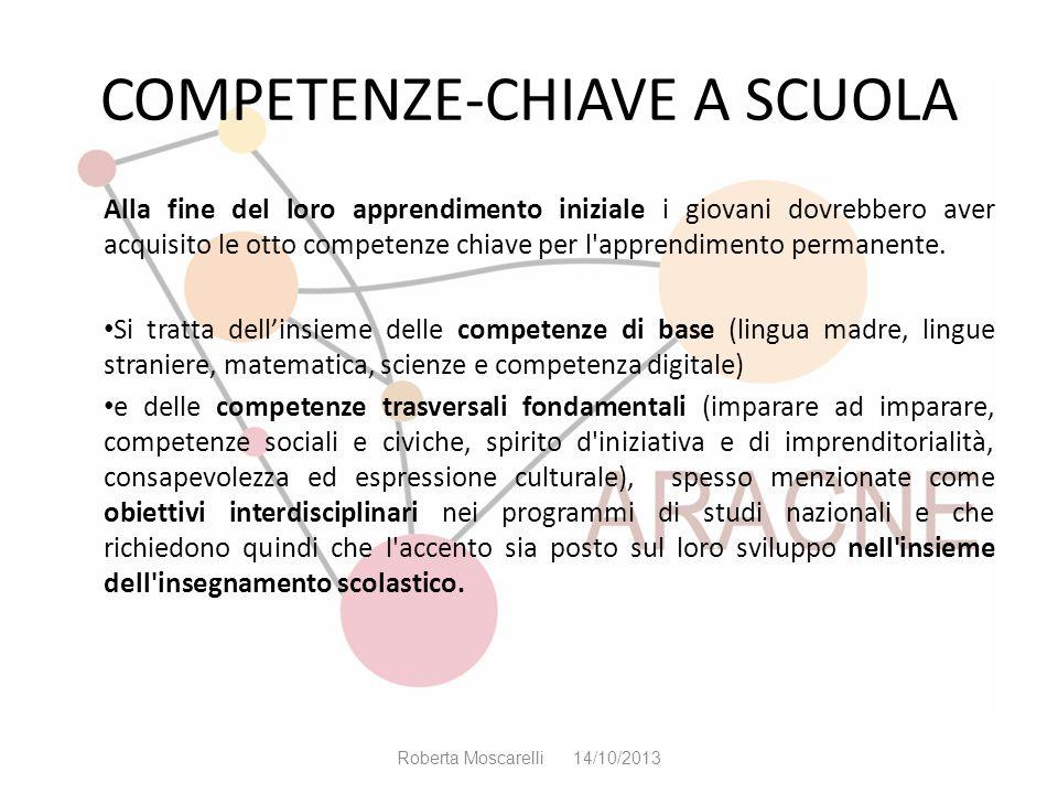 COMPETENZE-CHIAVE A SCUOLA