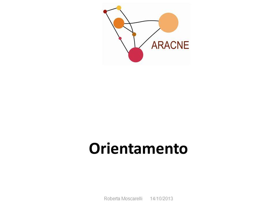 Orientamento Roberta Moscarelli 14/10/2013