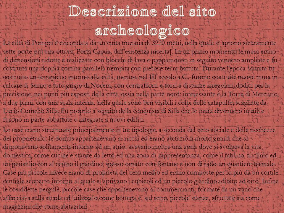 Descrizione del sito archeologico