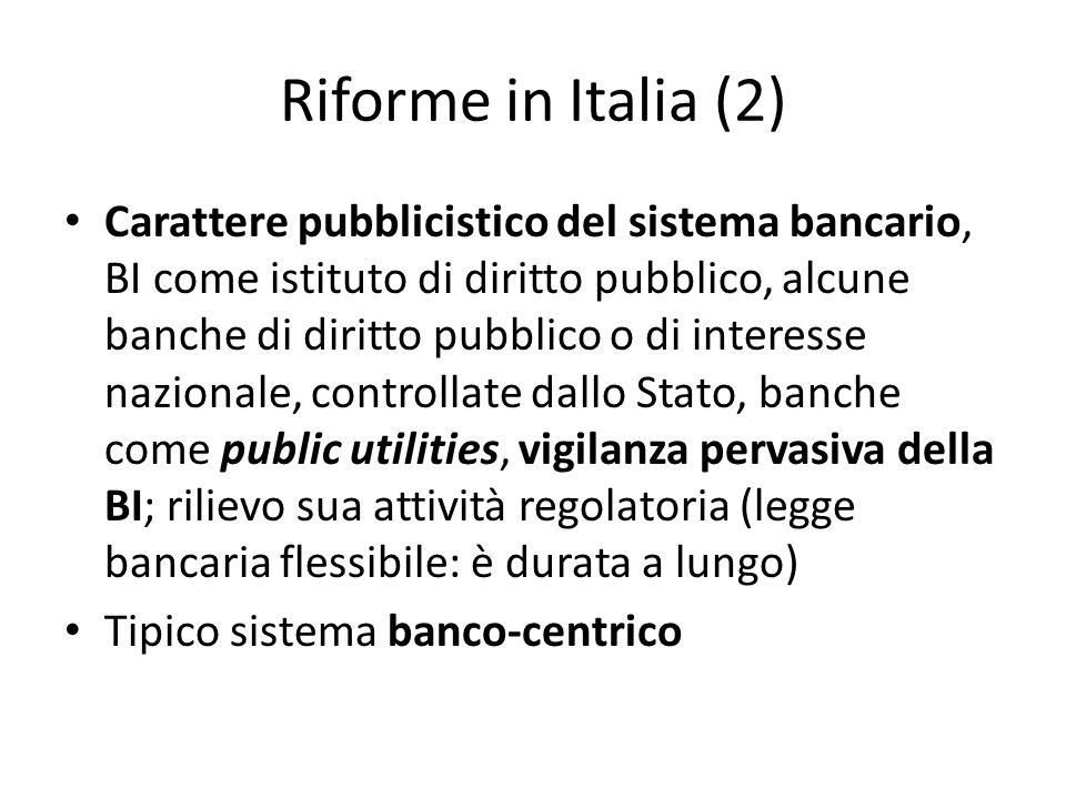 Riforme in Italia (2)