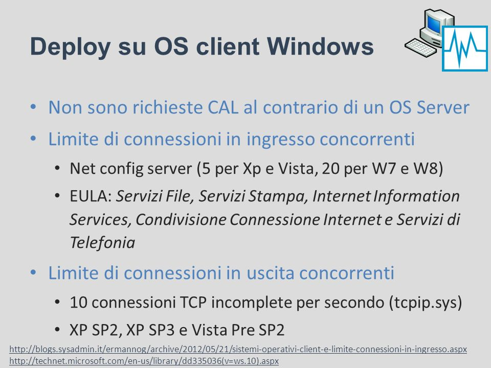 Deploy su OS client Windows