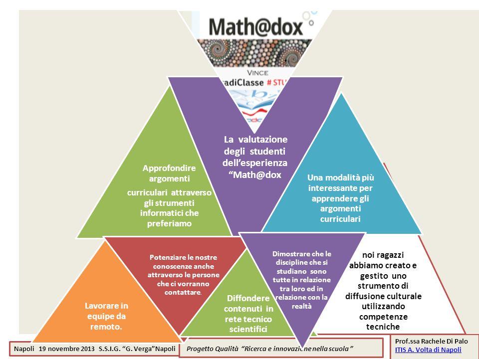 Progetto Qualità Ricerca e innovazione nella scuola