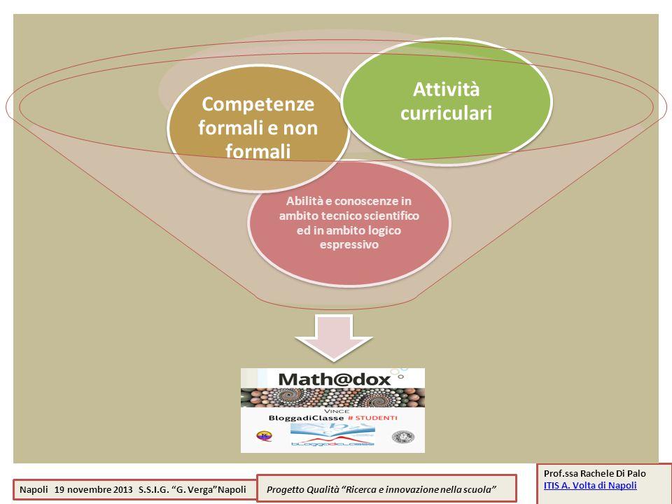 Competenze formali e non formali