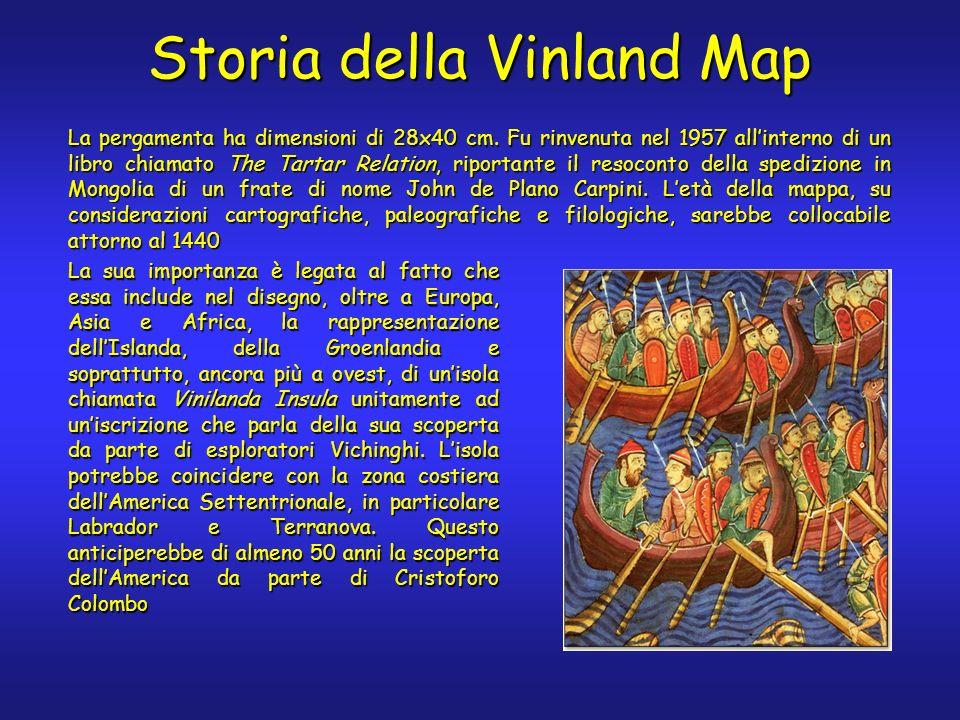 Storia della Vinland Map