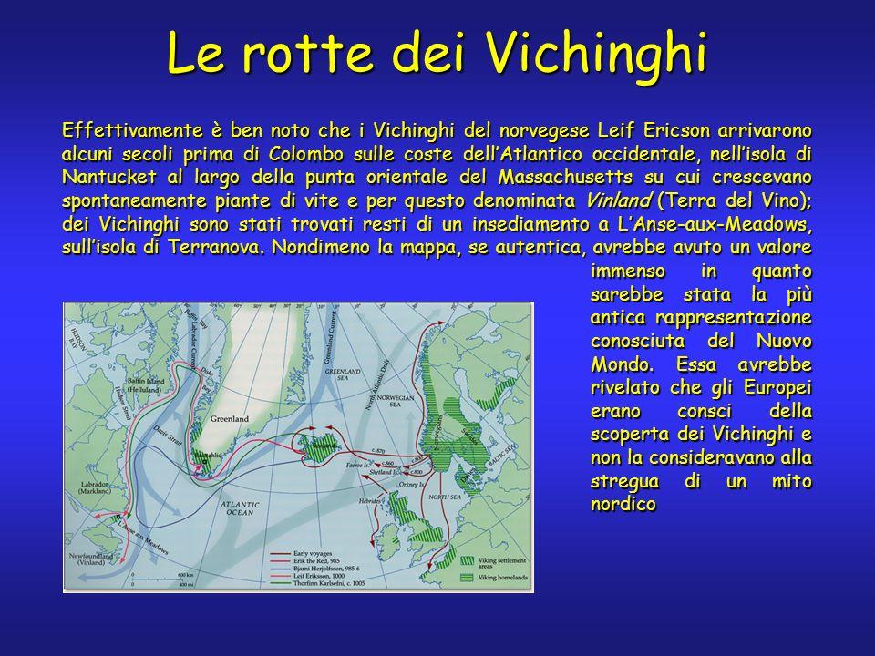 Le rotte dei Vichinghi