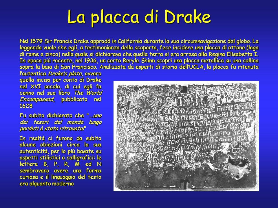 La placca di Drake
