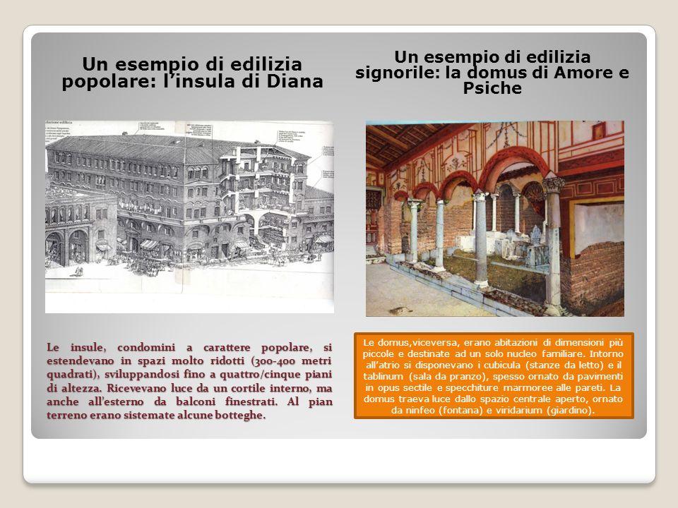 Un esempio di edilizia popolare: l'insula di Diana