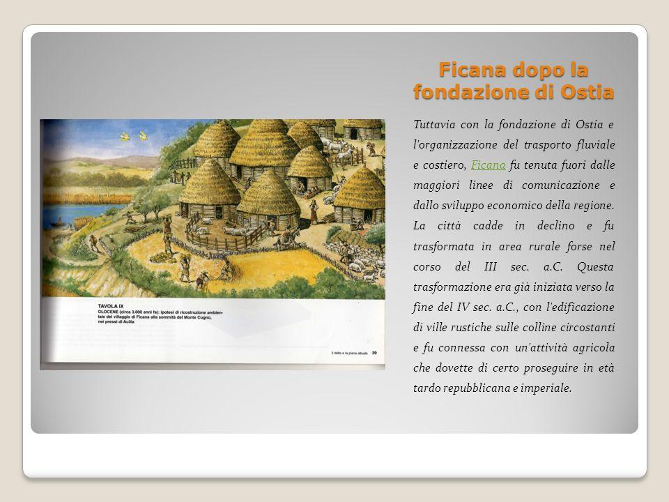 Ficana dopo la fondazione di Ostia