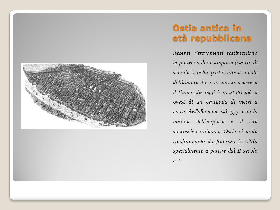 Ostia antica in età repubblicana