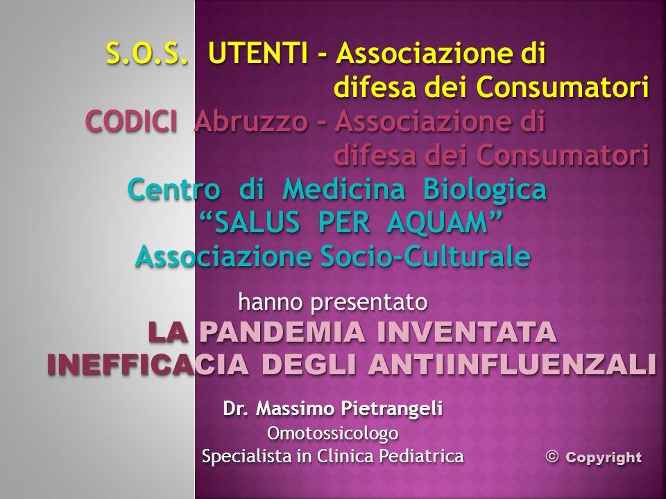 S.O.S. UTENTI - Associazione di difesa dei Consumatori