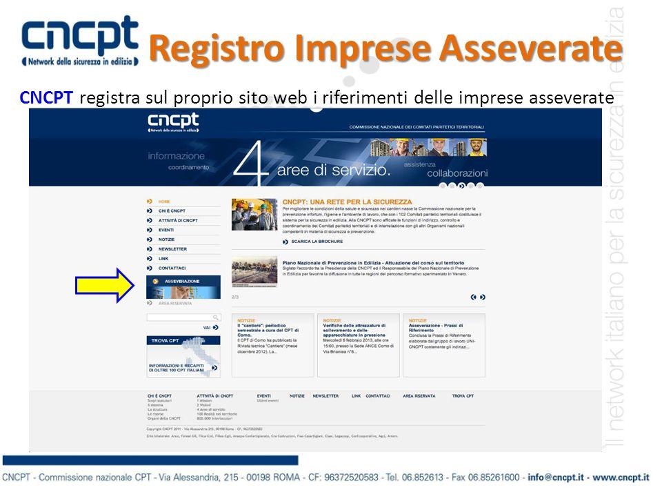 Registro Imprese Asseverate