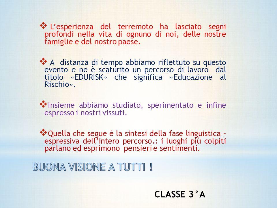 BUONA VISIONE A TUTTI ! CLASSE 3°A