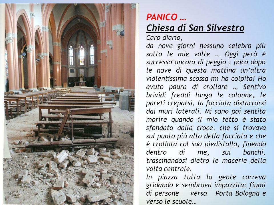 PANICO … Chiesa di San Silvestro