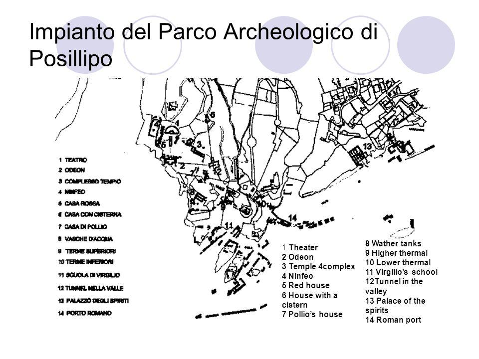 Impianto del Parco Archeologico di Posillipo
